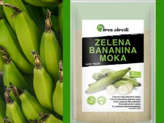 Zelena bananina moka in odporni škrob na LCHF/KETO?