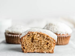 KOKOSOVI MUFFINI brez sladkorja in brez glutena